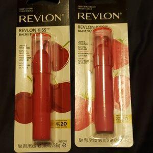 Revlon kiss lip balm
